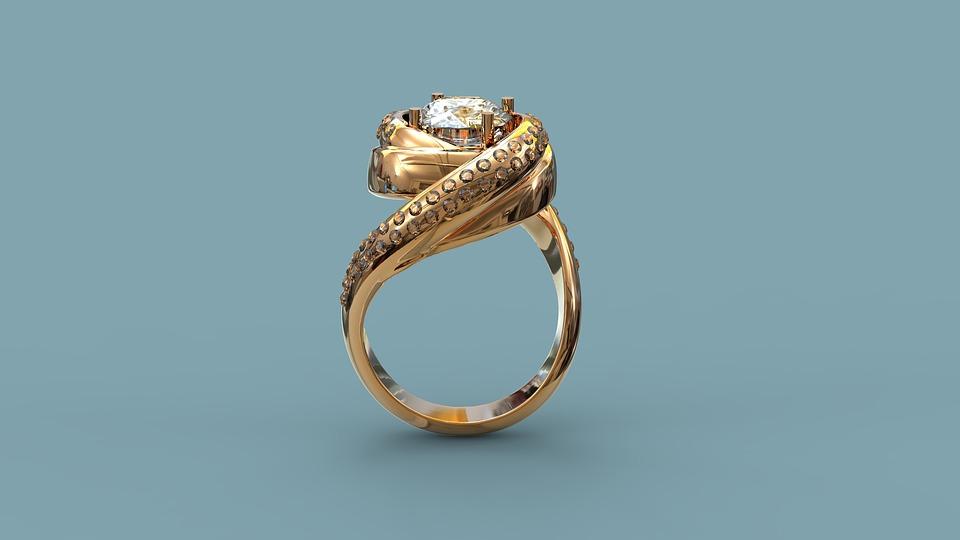 pierścionek ze złota